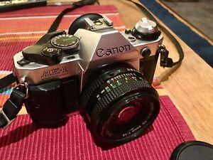 Canon AE-1 Program mit FD 50 mm 1:1.8