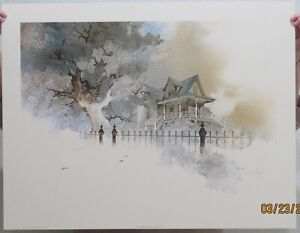 Michael Atkinson Lithographs: Country Home