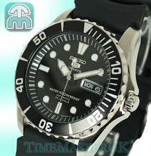 New SEIKO 5 SPORTS MENS AUTOMATIC DIVER STYLE RUBBER STRAP SNZF17J2