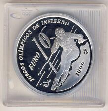 SPANIEN - 10 Euro 2005 - SLALOM - SILBER - POLIERTE PLATTE (10033/943N)