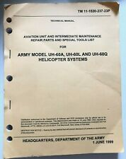 Army Model UH-60A, UH-60L And UH-60Q Helicopter Book