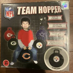 Pittsburgh Steelers TEAM HOPPER LICENSED PRODUCT NFL SPORTS CHILD'S TOY Bouncer