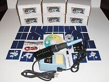 Learn to build your own solar cells panels diy kit  AND  Soldering Iron Station