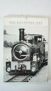 FdE - Kalender 1969 Europäischer Eisenbahn Kalender   B-15367