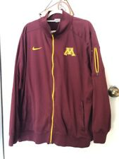 32b6659a6d9f NIKE DRI FIT NCAA MINNESOTA GOLDEN GOPHERS FULL ZIP JACKET Sz XXL