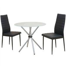 Vidaxl Set 3 pz tavolo e sedie da pranzo