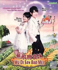 Wu Di Shan Bao Mei Taiwan Drama (TV Series 無敵珊寶妹) DVD English Sub ~ Nicholas Teo