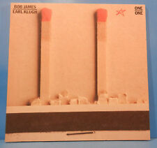 BOB JAMES & EARL KLUGH ONE ON ONE LP 1979 ORIGINAL PRESS GREAT COND! VG+/VG+!!