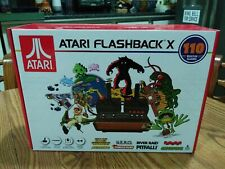 Atari Games ATARI FLASHBACK X Retro Console 2 Controllers w/ 110 Built In Games
