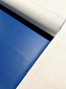 "Royal Blue Marine Vinyl Fabric Car Upholstery 10 Yards Boat Outdoor 54"" W"