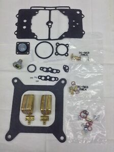 AUTOLITE MOTORCRAFT 4100 CARB KIT 1958-1969 FORD MERCURY V8 WITH FLOATS