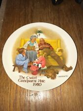 The Csatari Grandparent Plate 1980 Collector Plate The Bedtime Story Knowles