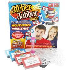 Jibber Jabber Divertido Fiesta Juego de Mesa hablar hablar en voz alta Boquilla desafío