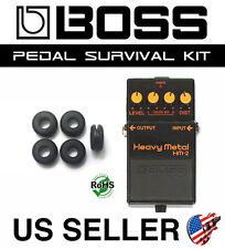 BOSS HM-2 HEAVY METAL SURVIVAL KIT GUITAR PEDAL GROMMET RUBBER O-RING SET OF 5