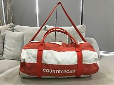 Large Country Road Duffel Gym Beach Overnight Shoulder Canvas bag
