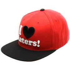 DGK I Love Haters Snapback Cap - Red/Black