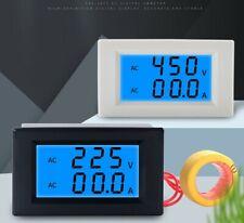 Lcd Display Digital Current Voltmeter Ac80 500v 200a Voltage Panel Meter
