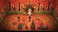 Autumn Items Acorn Pinecone - Otoño Animal Crossing New Horizons