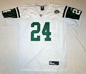 Darrelle Revis Reebok On-Field New York Jets Jersey Adult 50