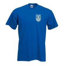 Camiseta de fútbol de selecciones nacionales azul talla L