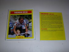 CYCLISME COUPURE 12x10 MIROIR du CYCLISME Gert Jan THEUNISSE PDM MAILLOT à POIS
