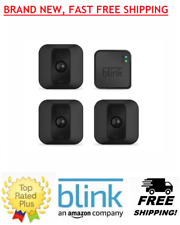 BLINK XT Battery Powered Home Security 3 Camera System HD Video Cloud Storage