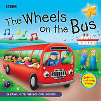 NEW The Wheels On The Bus By BBC Audio CD Free Shipping