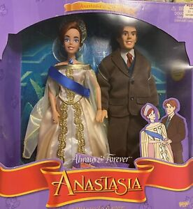 1997 GALOOB TOYS ALWAYS AND FOREVER ANASTASIA & DIMITRI DOLLS Barbie, Disney New