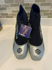 NEW ALPINA  SPORT ST 10L CROSS COUNTRY SKI BOOTS SIZE 47 black  silver red