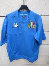 Maillot rugby ITALIE maglia ITALIA F.I.R shirt KAPPA L