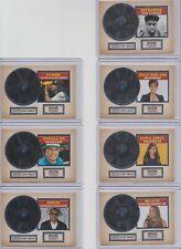 2015 Panini Americana Certified Silver Singles 7 Card Insert Set w/ Paula Abdul