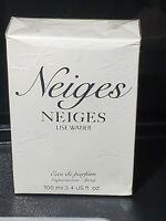Neiges Perfume by Lise Watier Women 3.4 oz Eau de Parfum Spray NEW/SEALED In Box