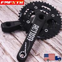 104/64BCD 24/32/42t 3x10S 170mm Aluminum MTB Road Bike Chainring Crank Crankset
