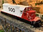 HO Scale Broadway Limited EMD SD40-2 Locomotive DCC w/Quantum Sound SOO Line NEW