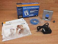Linksys (PAP2) Phone Adapter With 2 Ports For Voice-Over-IP Bundle **READ**