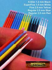 M00912 Morezmore 20 Mix 1.2-2.5 mm MicroBrush Micro Brush Applicator Mini