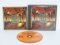 KING'S FIELD 1 Kings Ref/ccc PS1 Playstation Japan p1