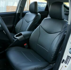 TOYOTA PRIUS 2005-2009 IGGEE S.LEATHER CUSTOM FIT SEAT COVER 13 COLORS AVAILABLE