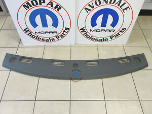 DODGE RAM Replacement Med Slate Gray Forward Upper Dash Panel NEW OEM MOPAR