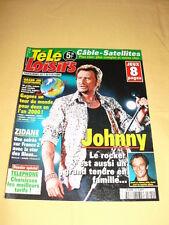 JOHNNY HALLYDAY Télé Loisirs N°709 octobre 1999