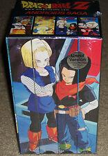 Dragon Ball Z Androids Saga VHS 4-Tape Uncut BoxSet New Sealed