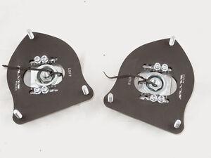 Camber Plates for Mini Cooper R53 R50 - ADJUSTABLE -  BLACK