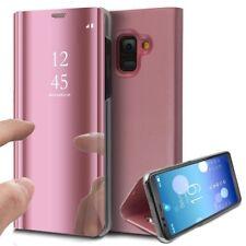 Mp4 Telecom Coque Etui Housse pour Samsung Galaxy A8 2018 Clear View À Rabat Cov