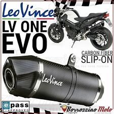 SILENCIEUX LEOVINCE LV ONE EVO CARBON 8290 HOMOLOGUÉE EVOII BMW F 800 R ie 2016
