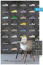 Vlies Foto Tapete Sneakers Schuhe Wandbild 200 x 300cm DI2035