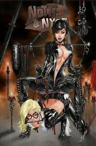 Notti & Nyce - EBAS - Catfight  - Ltd To 500 - Trade Dress Catwoman, Black Cat