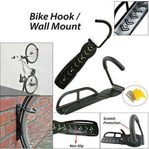 Bike Rack Hook Storage Wall Mount Hanger Hanging Stand Bicycle Holder Storage