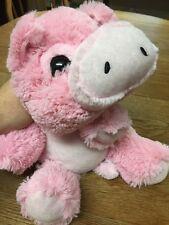 Pig Plush. Pink. Soft.