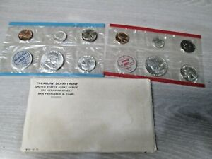1962 US Mint Uncirculated Set