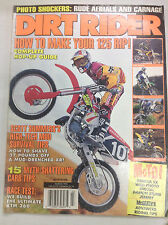 Dirt Rider Magazine Complete Hop-Up Guide March 1996 051717nonr